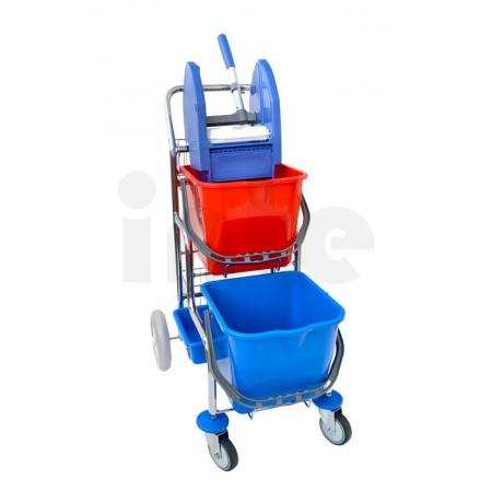 EASTMOP KAMZÍK 2x17 l úklidový vozík - 2 košíky