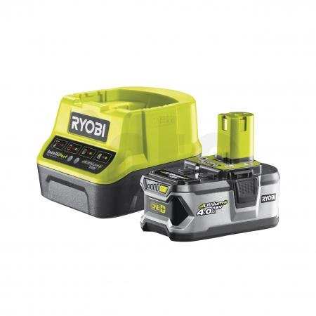 RYOBI RC18120-140 18V Sada akumulátoru 4.0Ah s nabíječkou 5133003360