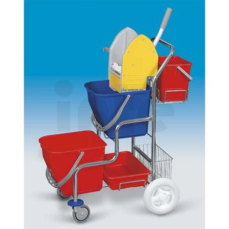 EASTMOP KAMZÍK 2x17 l úklidový vozík - košík, kbelík