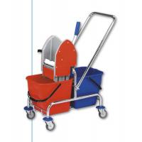EASTMOP CLAROL 2x17 l nerez úklidový vozík